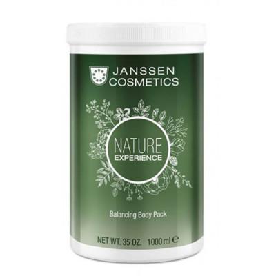 Кремовое детокс-обертывание Janssen Cosmetics Balancing Body Pack 1000мл: фото