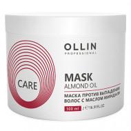 Маска против выпадения волос с маслом миндаля OLLIN CARE Almond Oil Mask 500мл: фото