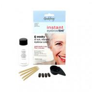 Краска-хна в капсулах для бровей Godefroy Eyebrow Tint Graphite набор 15 капсул графит: фото