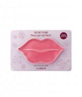 Патчи для губ гидрогелевые The Saem Secret Pure Rosy Lips Gel Patch 10гр: фото