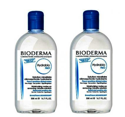 Мицеллярная вода Bioderma Hydrabio Н2О 2*500мл: фото