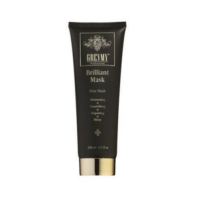 Маска Бриллиантовая Greymy Professional Shine Brilliant Mask 200 мл: фото