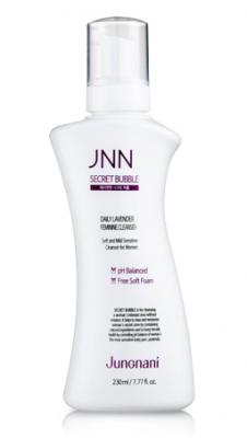 Пенка интимная JUNGNANI JNN SECRET BUBBLE daily lavender feminine cleanser 230мл: фото