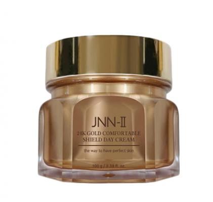 Крем для лица дневной с 24-каратным золотом JUNGNANI JNN-II 24K GOLD COMFORTABLE SHIELD DAY CREAM 100г: фото