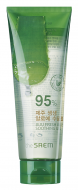 Гель с алоэ универсальный увлажняющий THE SAEM Jeju Fresh Aloe Soothing Gel 95% 250мл: фото