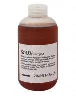 Шампунь активно освежающий для глубокого очищения волос Davines SOLU shampoo 250 мл: фото