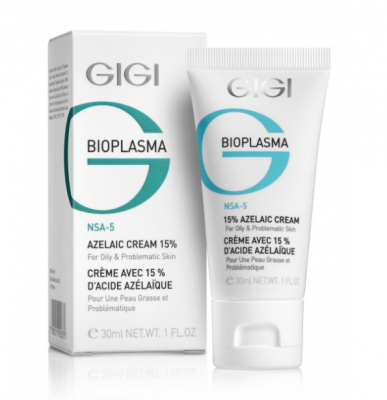 Крем с азелаиновой кислотой GiGi BIOPLASMA 15% Azelaic Cream 30 мл: фото
