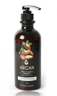 Шампунь для волос с аргановым маслом May Island Argan clinic treatment shampoo 750мл: фото