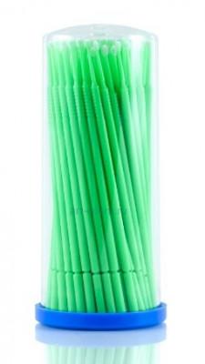 Микрощеточки безворсовые зеленые S 1мм Little Things 100шт: фото