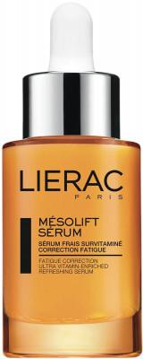 Сыворотка-корректор признаков усталости витаминизированная Lierac Mésolift Sérum 30мл: фото