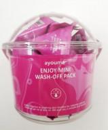 Маска для лица AYOUME ENJOY MINI WASH-OFF PACK 3гр*30: фото