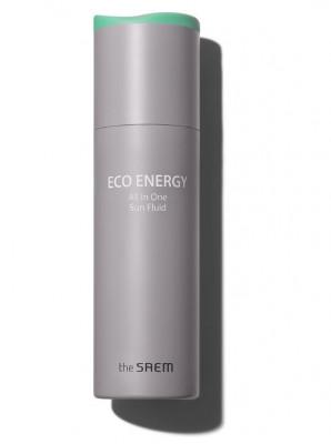 Флюид солнцезащитный THE SAEM Eco Energy All In One Sun Fluid 240г: фото