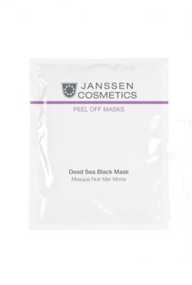 Альгинатная маска грязь Мертвого моря Janssen Cosmetics Dead Sea Black Mask 500 г: фото