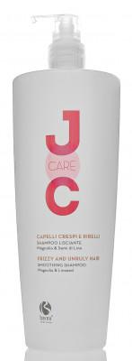 Шампунь разглаживающий Магнолия и Семя льна Barex JOC Care Smoothing shampoo 1000мл: фото
