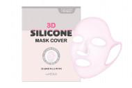 Маска для лица без пропитки СИЛИКОНОВАЯ The MEDIUS 3D SILICONE MASK COVER: фото