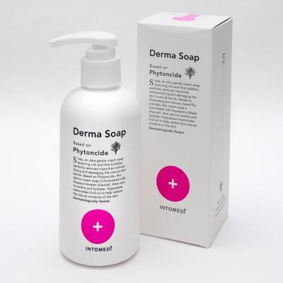Крем-мыло гипоаллергенное иммуноукрепляющее с фитонцидами INTOMEDI Derma Soap 200мл: фото