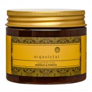 "Скраб для тела на основе тростникового сахара OrganicTai ""Манго и Папайя"", 200 мл: фото"