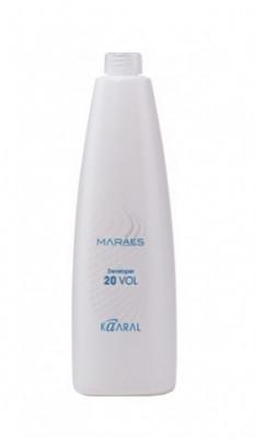 Окисляющая эмульсия 6% Kaaral MARAES Developer 20 volume 900 мл: фото