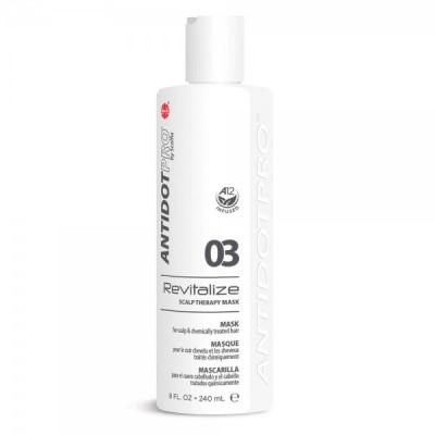 Маскa для кожи головы и поврежденных волос AntidotPro Revitalize 03 240мл: фото