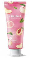 Крем для рук увлажняющий c персиком Frudia My Orchard Peach Hand Cream 80 г: фото
