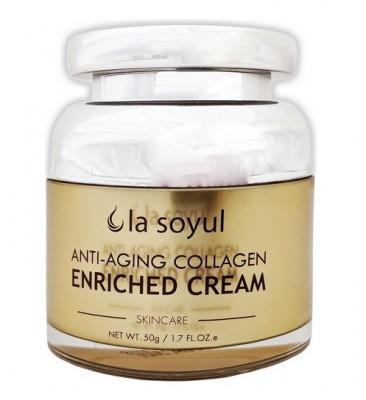 Крем антивозрастной с коллагеном La Soyul Anti-Aging Collagen Enriched Cream 50 г: фото