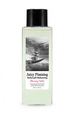 Средство для снятия макияжа для чувствительной кожи A'PIEU Juicy Planning Relief PH Balancing Cleansing Water 200мл: фото