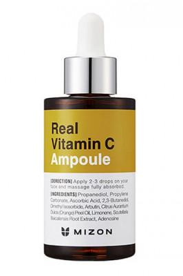 Сыворотка для лица с витамином С MIZON Real Vitamin C Ampoule 30мл: фото