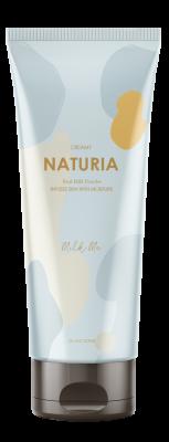 Скраб для тела МОЛОЧНЫЙ EVAS NATURIA Creamy Oil Salt Scrub Milk Me 250г: фото