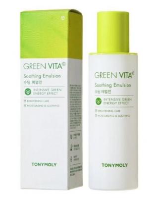 Эмульсия для лица с витамином C TONY MOLY GREEN VITA C Soothing Emulsion 120мл: фото