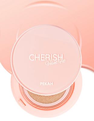 Кушон для лица PEKAH Cherish Velvet Fit Cushion тон 21 светло-бежевый 14г: фото
